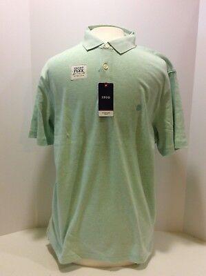 Izod Mens Dockside Short Sleeve Solid Polo Shirt Polo Shirt
