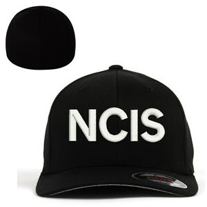 3ed43dcec1fb4 Flexfit BASEBALL Military Cap Hat NCIS Naval Criminal Investigative ...