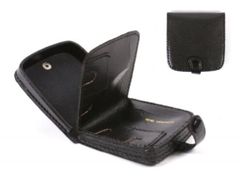 Mens Ladies  Quality Real Leather Coin Pouch Tray Wallet Notes Purse Change
