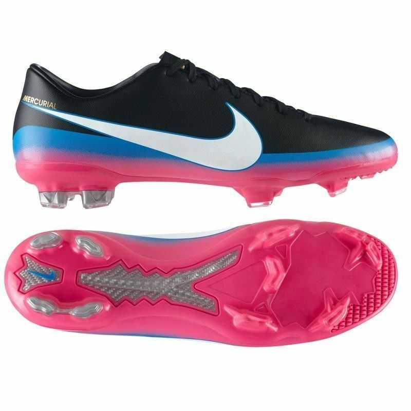 Nike Cr7 Mercurial Glide Iii Cr Fg Firm Ground Soccer Football zapatos negro.