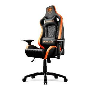 Cougar Armor S (Orange) Luxury Gaming Chair with Breathable Premium...