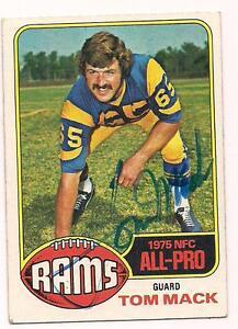 1976-Topps-Auto-HOF-Tom-Mack-Los-Angeles-Rams