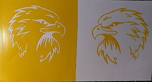 Details about VINYL HIGH HEAT GUN STENCIL - (3 SETS) AMERICAN BALD EAGLE -  FOR PAINTING