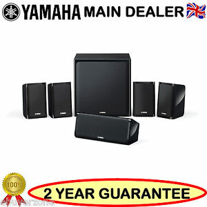 Yamaha-NSP40-5-1-Channel-Home-Theater-Speaker-Package-Active-Sub-woofer-NS-P40