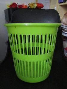 poubelle de bureau plastic neuve anis