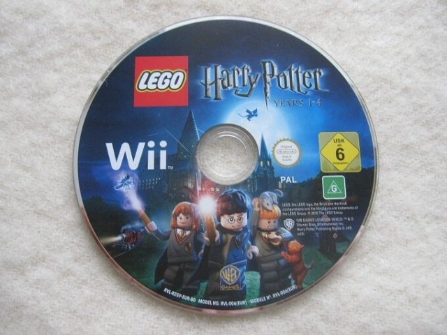 LEGO Harry Potter Years 1-4, Nintendo Wii, - Løs disc i…