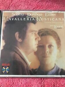 Placido Domingo : Mascagni: Cavalleria Rusticana CD