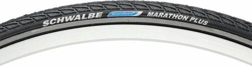700 x 25 Clincher Wire BLK//Reflective Schwalbe Marathon Plus Tire
