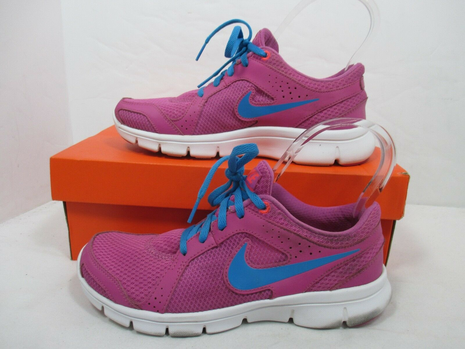 Nike REVOLUTION Purple/Pink Lace Up Athletic Running Shoes Sz.8M W/Original Box Special limited time