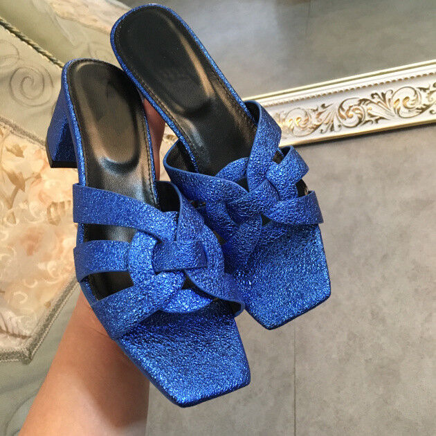 ALS08 2018 Hot Schuhes Spring Summer Schuhes Hot Woman Leder Tribute Slippers Open Toe Flats 5cf362