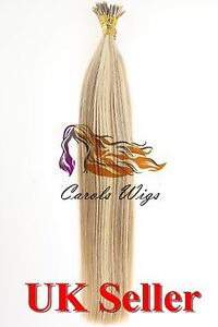 18-034-1g-8A-Russian-Remy-Double-Drawn-Stick-I-Tip-100-Human-Hair-Extensions-UK