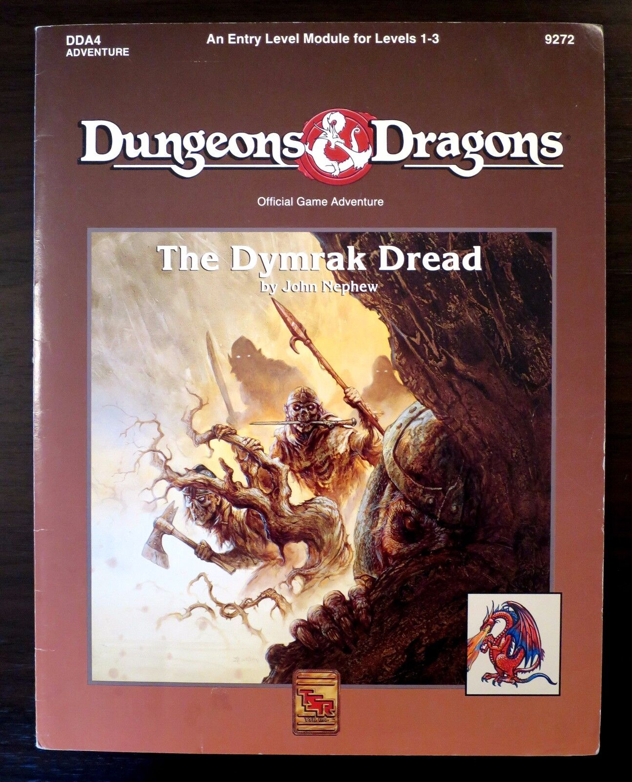 DDA4 The Dymrak Dread (includes map) - Dungeons & Dragons