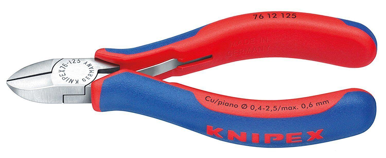 KNIPEX lot 5 Pinces coupantes de côté pour électromécanicien