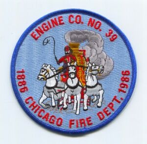 Chicago Fire Department Engine 39 Patch Illinois IL