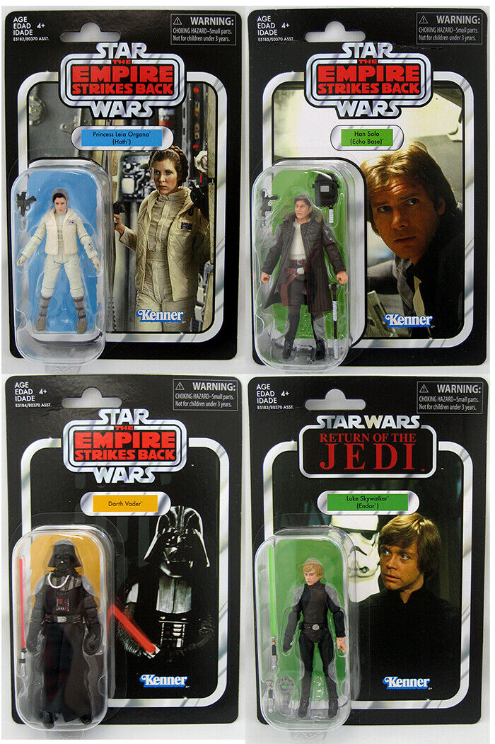 Star Wars The Vintage Collection Set of 4 3.75  Figures Wave 20 (2019 Wave 2)
