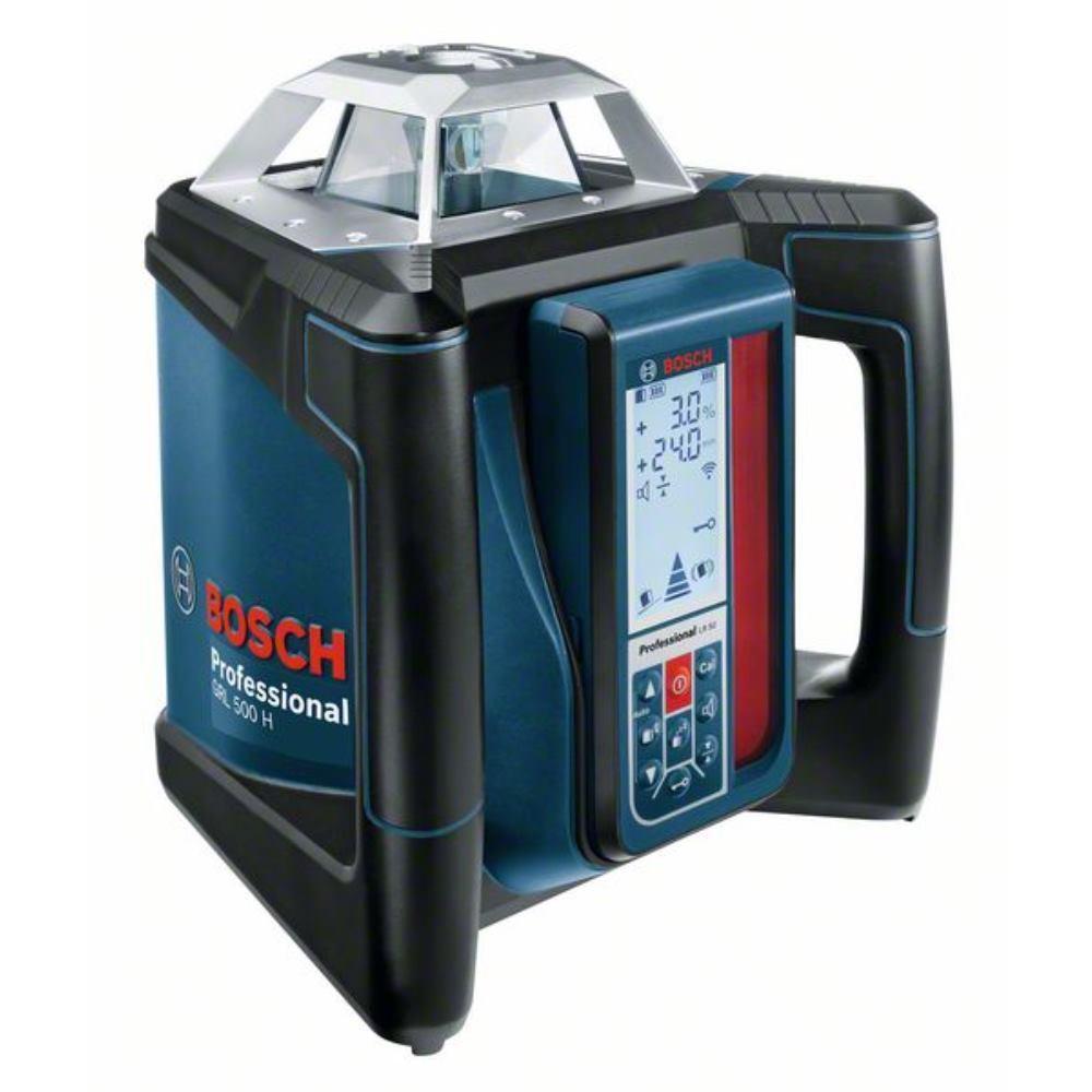 Bosch Rotationslaser GRL 500 H, mit Hochleistungempfänger LR 50