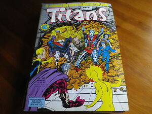 TITANS-n-112-de-1988-X-MEN-VENGEUR-DE-LA-COTE-OUEST-TBE-comme-neuf