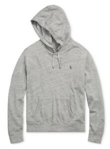 bc113f98c Polo Ralph Lauren Men's Big & Tall Grey Heather Spa Terry Pullover ...