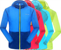 Skin Clothing Cycling Bike Jersey Windproof Windbreaker Breathable Uv Protection