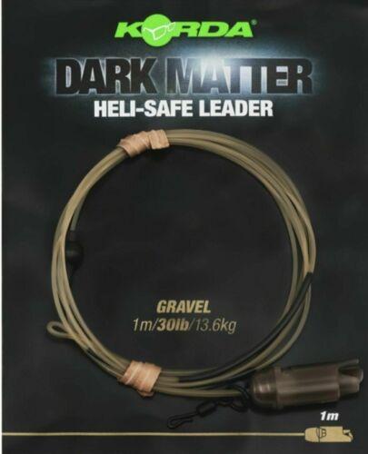 Korda Dark Matter Heli Safe Leader All Types Available New