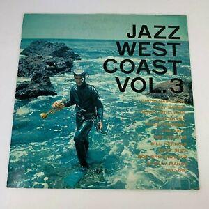 Jazz-West-Coast-Jazz-Coast-Vol-3-1957-Vinyl-LP-Record-VG