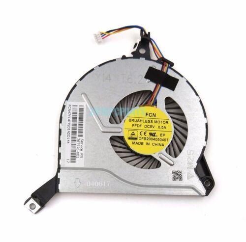 Genuine NEW HP PAVILION 14-V 14-V028TX 15-V 15-P 767776-001 Q139 Q140 CPU FAN