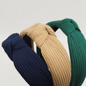 Women-Velvet-Head-Twist-Headband-Cross-Knot-Elastic-Hair-Band-Turban-Hairband