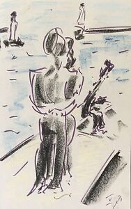 Gabriel-Richard-1914-1993-Artist-Marseille-Marseille-1971-the-Quai-Marine