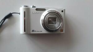 Appareil photo compact Panasonic Lumix dmc-zx1 blanc en très bon état