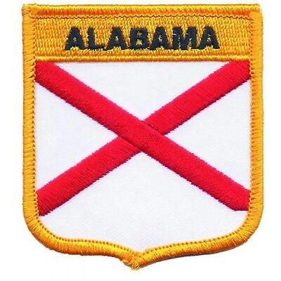 set 2 10 Alabama Crimson Tide Fabric Applique Iron On Ons