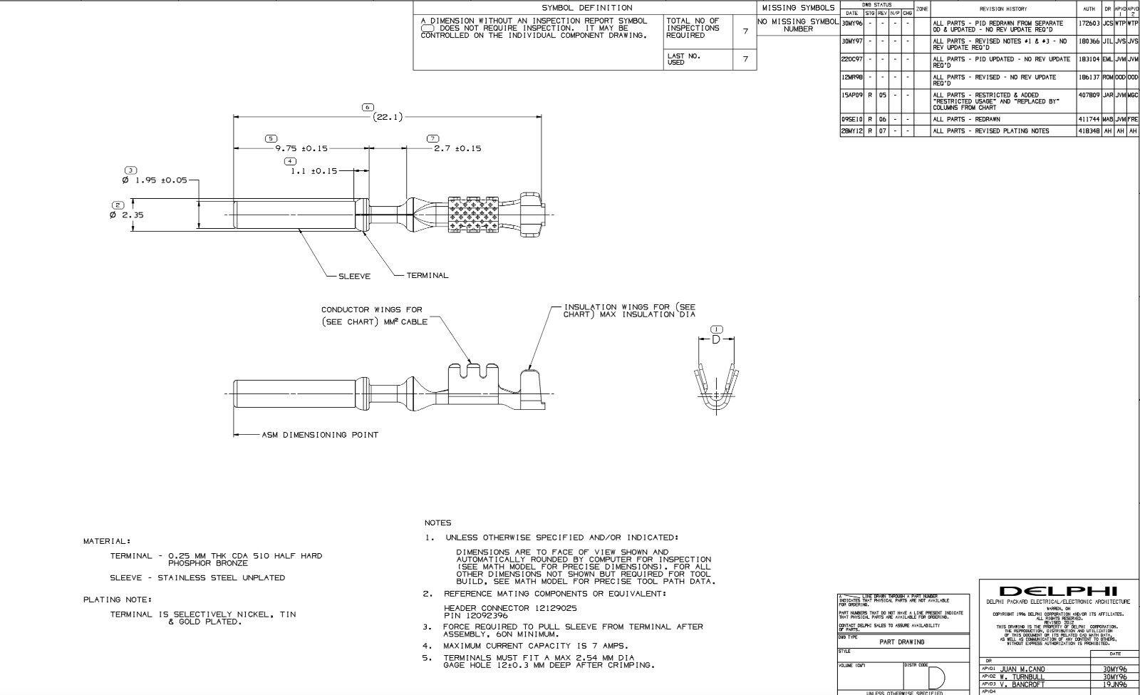 Delphi 12084912 Lt1 Obdii Computer Pcm Ecu Terminals Pins 25pcs Wiring Harness Ebay Norton Secured Powered By Verisign