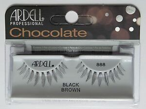 34fa663668a LOT OF 10) ARDELL Professional Lashes Chocolate Black Brown #888 | eBay