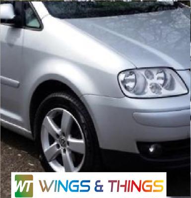 VW TOURAN 03-06 PASSENGER LEFT N//S  WING BLUE LA5X