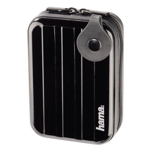 """60h Hama estuche de cámara /""""estuche duro metal style/"""" negro 65 x 30 x 105 mm de protección"""
