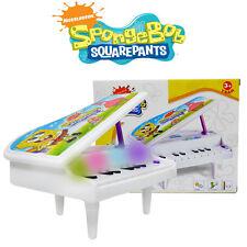 DISNEY SPONGEBOB KID BOY ELECTRONIC PIANO KEYBOARD ORGAN EDUCATIONAL MUSICAL TOY