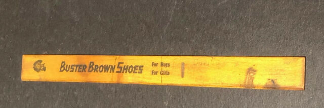 Wooden Rulers Advertising Italian//Paris//Roman Hollow Simple Vintage Ruler SL