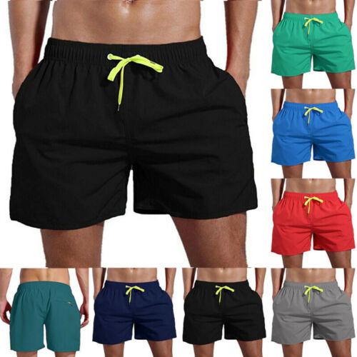 Herren Strand Bermudas Kurzhose Badeshorts Schwimmhose Schwimmshort Sweatshorts