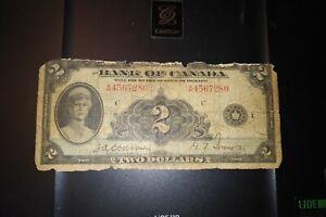 1935-2-Dollar-Bank-of-Canada-Banknote-A4567280