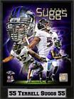 9x12 Plaque - Terrell Suggs Baltimore Ravens