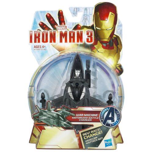 Marvel Iron Man War Machine Battle Charger Ironman Plane Ages 4 Toy Car Tank