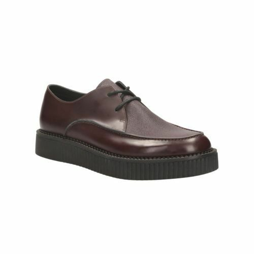 Clarks Mens   V&A Rockn Low braun Lea  Limited Edition UK 6,7,8,9,10,11 G