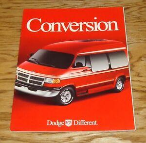 Original 2000 Dodge Ram Conversion Van Sales Brochure 00 Ebay