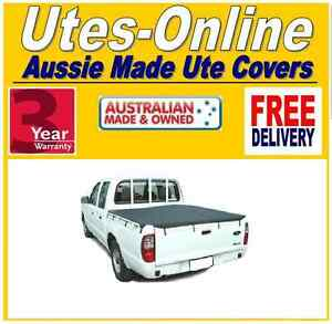 Ford-Courier-amp-Mazda-Bravo-Dual-Cab-Ute-Tonneau-Cover-Tarp-1999-to-2006