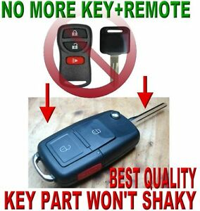 EURO-FLIP-CHIP-KEY-REMOTE-FOR-NISSAN-CAR-ALARM-RFID-FOB-CLICKER-TRANSMITTER-3WD1