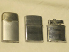 3 Vintage lighters lighter lot RONSON 24,163 Penguin 111957 Japan Continental