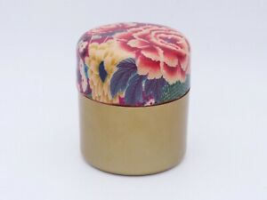 Pro Japanese Tea holder TOMITALIA  VENIE series Fan & Rose Box Case Japan made