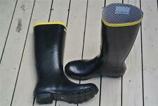 NEW COLORADO Waida Waterproof Black Gumboots. RRP-$99.95 Size 8. Quality Rubber.