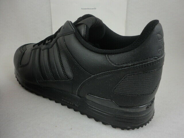 brand new c5654 6a92d adidas ZX 700 Black Leather Originals S80528 Mens Retro Running 13