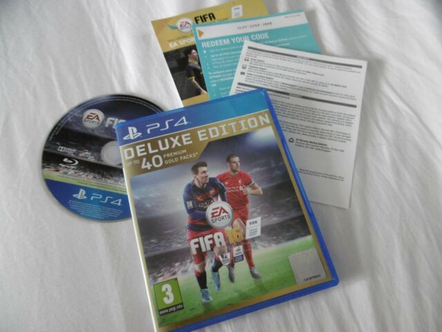 Fifa 16 Edición de Lujo Juego Completo PLAYSTATION 4 PS4 Pal Pegi 3 1-4