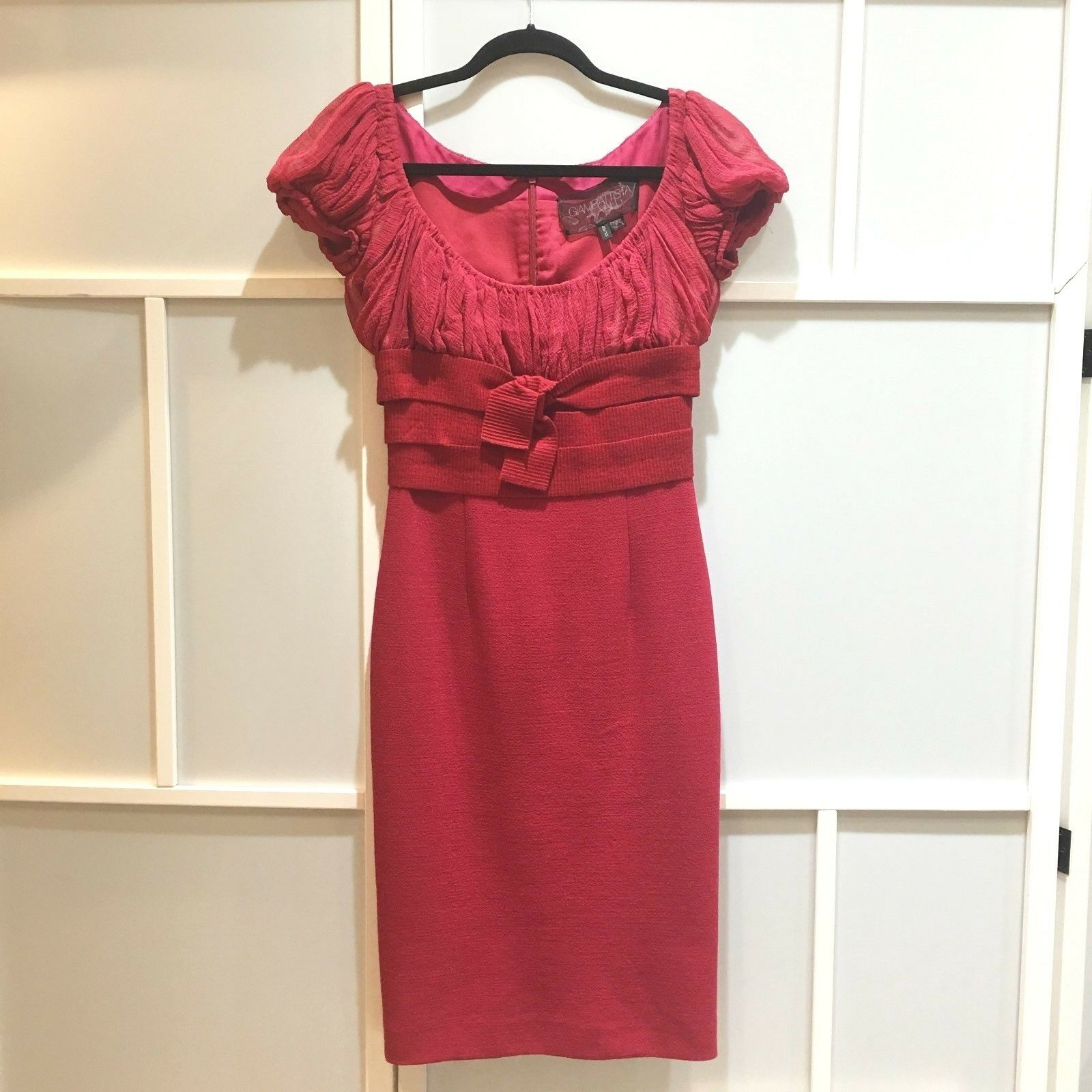 100% authentic Giambattista Valli red dress, size XS